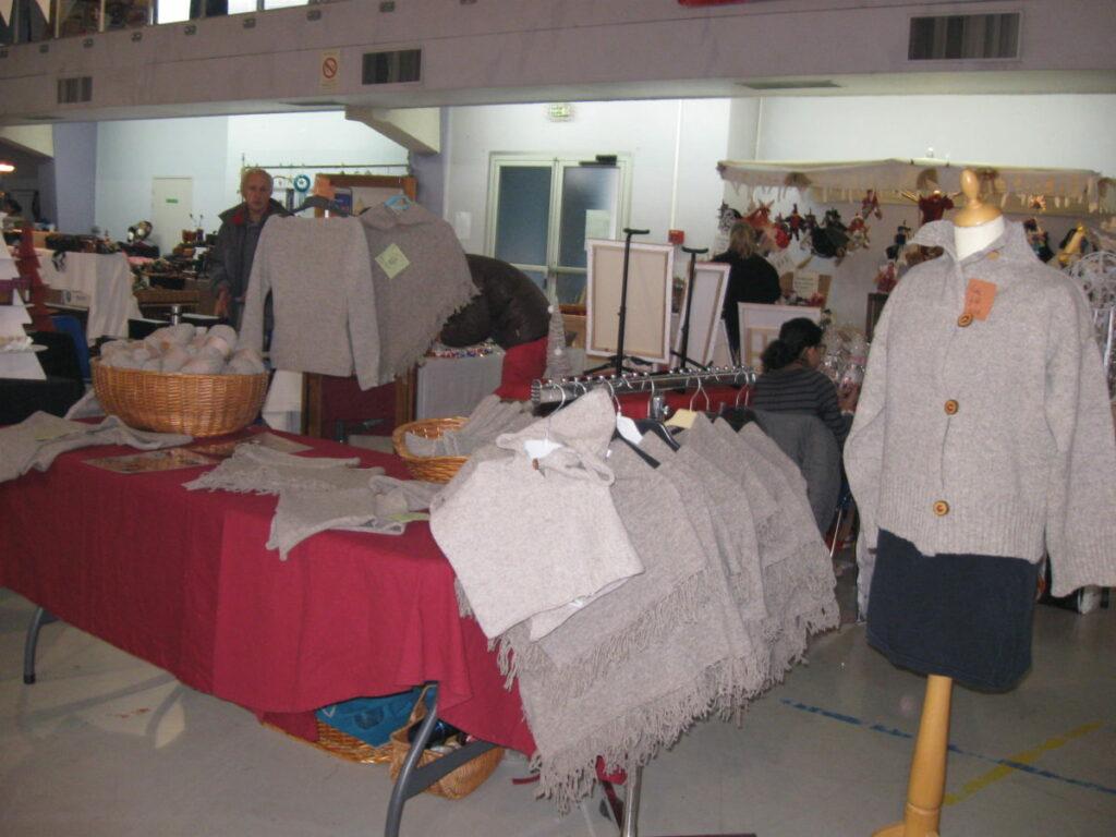 stand feda laine marché de noël