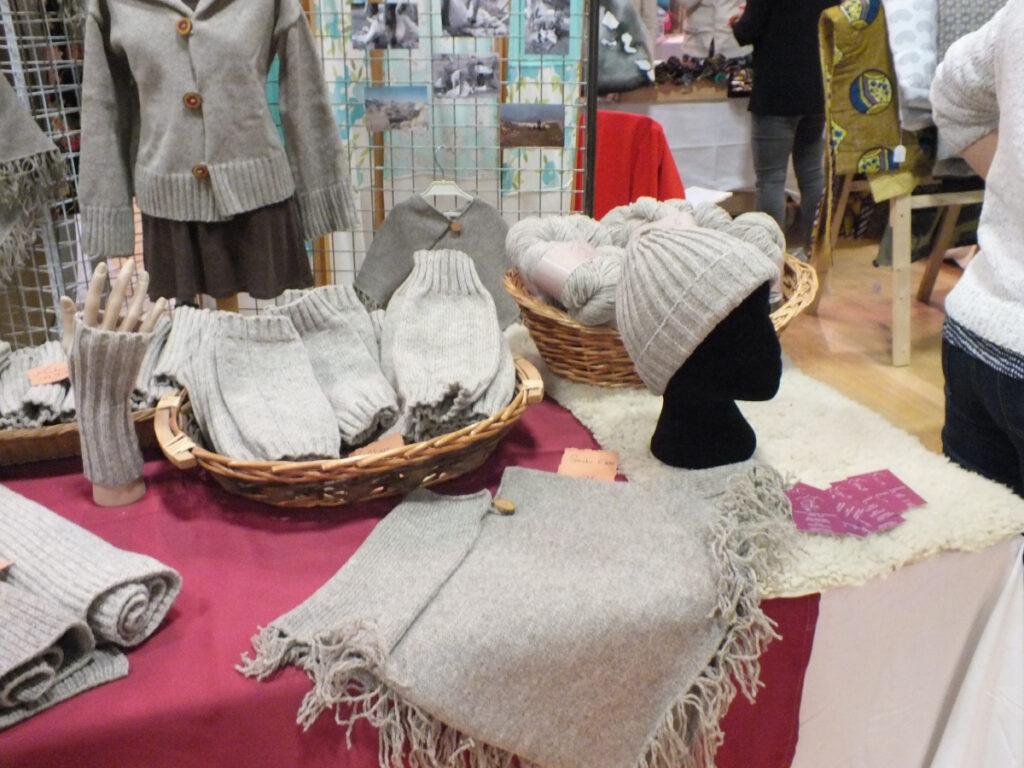 stand feda laine au salon talents de femme