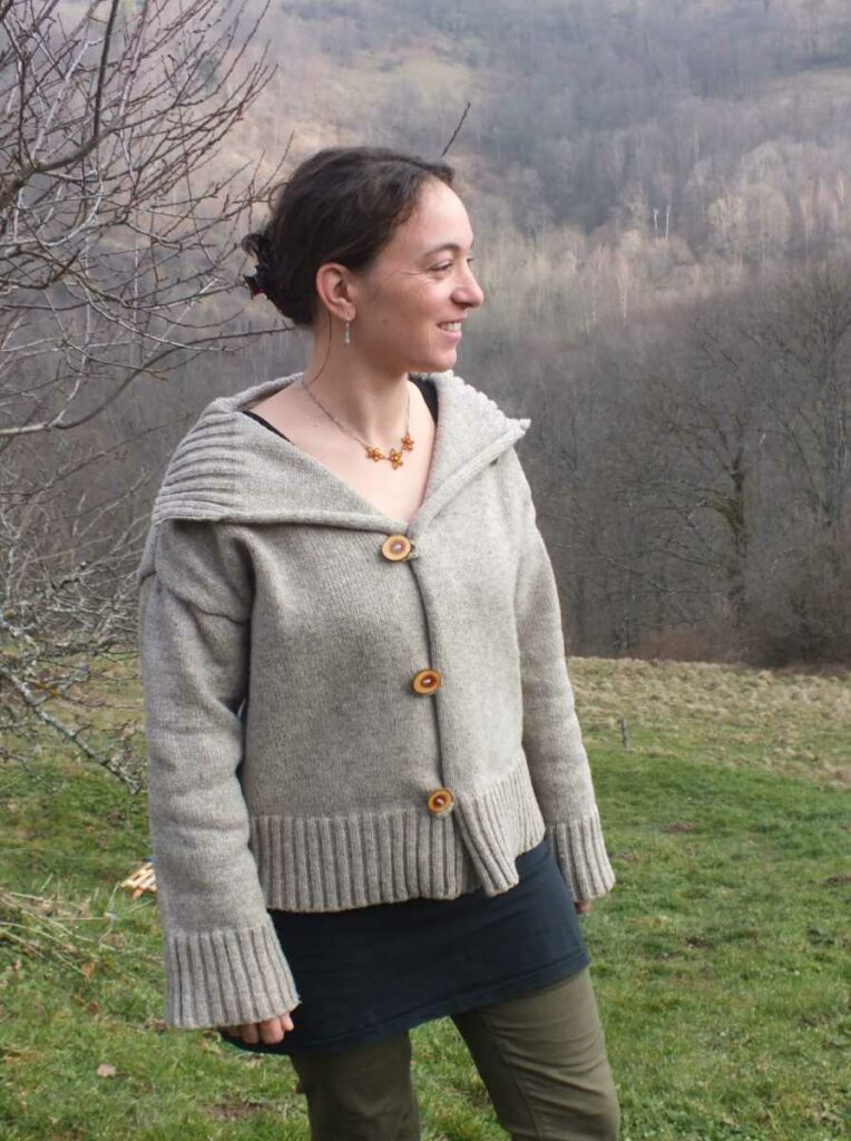 veste femme feda laine
